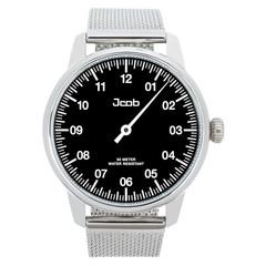 Jcob Einzeiger JCW002-SS01 zwart herenhorloge
