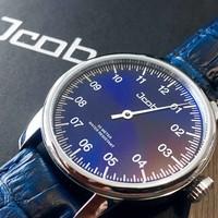 Jcob Jcob Einzeiger JCW003-LS03 blauw herenhorloge