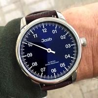 Jcob Jcob Einzeiger JCW003-LS01 blauw herenhorloge