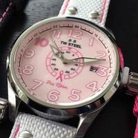 TW Steel TW Steel TW972 Pink Ribbon dameshorloge 45mm