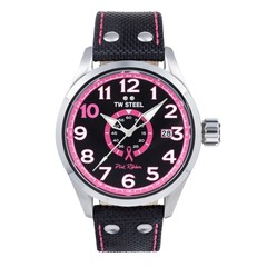 TW Steel TW973 Pink Ribbon dameshorloge 45 mm