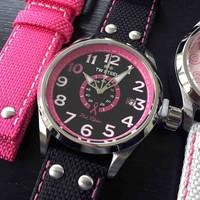 TW Steel TW Steel TW973 Pink Ribbon dameshorloge 45 mm