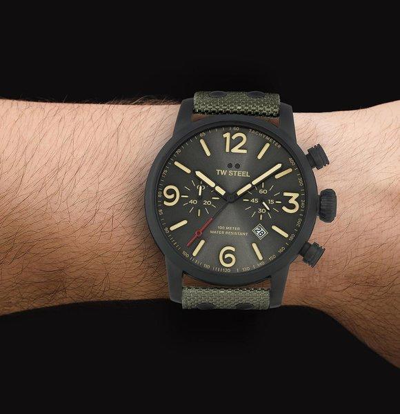 TW Steel TW Steel MS124 Maverick chronograaf horloge 48mm