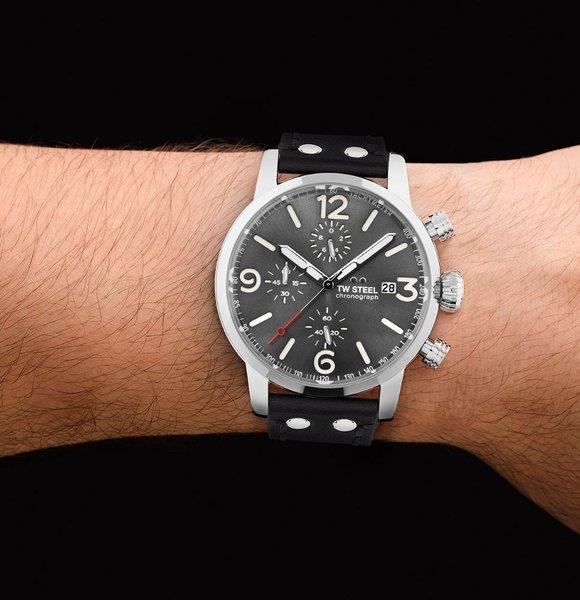 TW Steel TW Steel MS93 Maverick chronograaf horloge 45mm