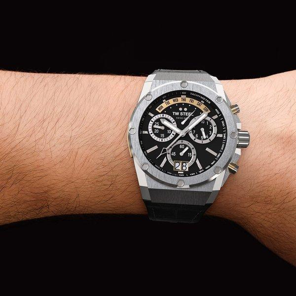 TW Steel TW Steel ACE101 Genesis chronograaf herenhorloge 44mm