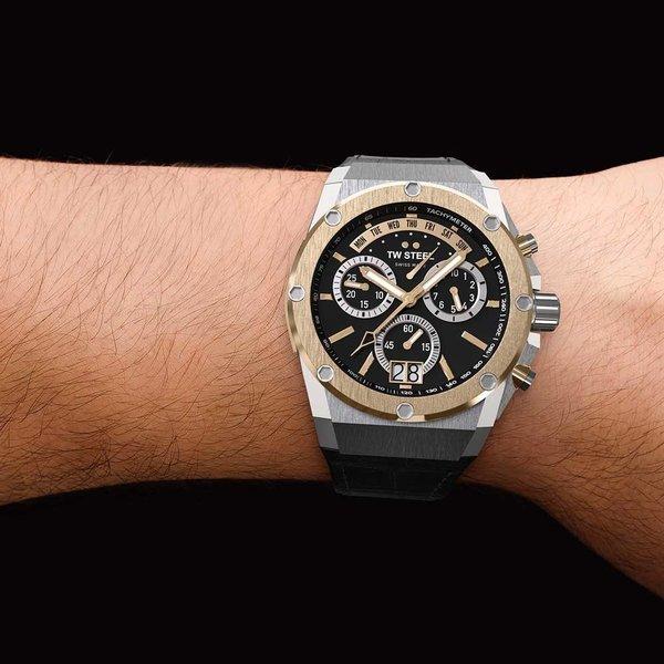 TW Steel TW Steel ACE103 Genesis chronograaf herenhorloge 44mm