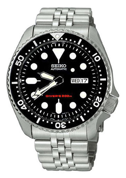 Seiko 5 Divers SKX007K2 heren horloge 42mm