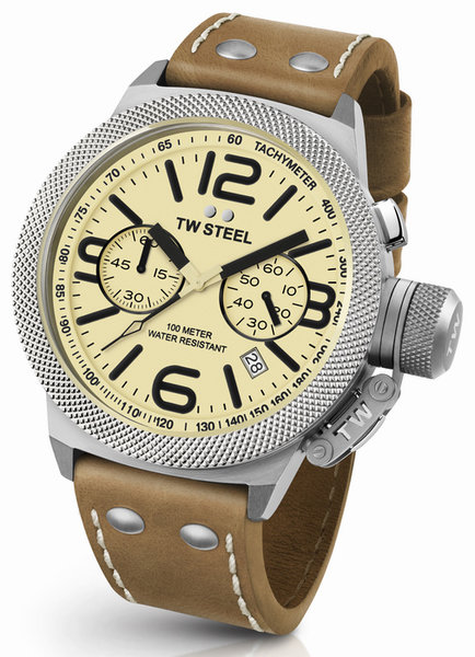 TW Steel TW Steel CS14 Canteen chronograaf heren horloge 50mm DEMO