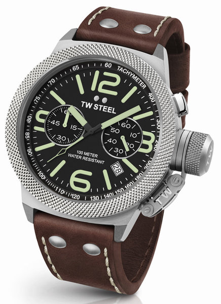 TW Steel TW Steel CS24 Canteen chronograaf heren horloge 50mm DEMO