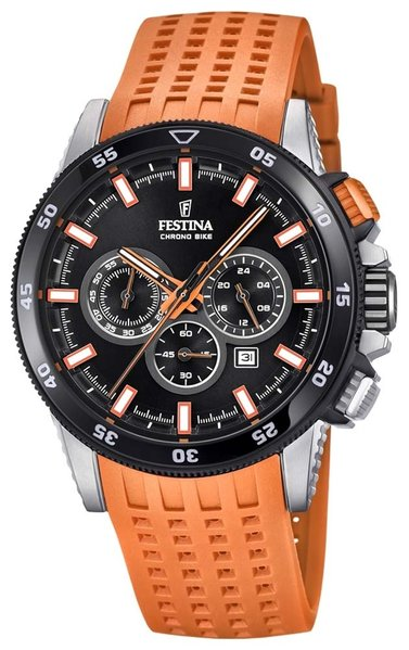 Festina Festina F20353/6 Chrono Bike 2018 heren horloge 43mm