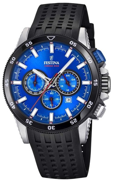 Festina Festina F20353/2 Chrono Bike 2018 heren horloge 43mm