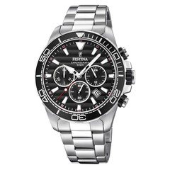 Festina F20361/4 chronograaf herenhorloge 44 mm