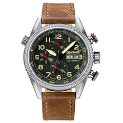 Ingersoll IN1102GR Grizzly automatisch herenhorloge 45mm