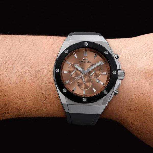 TW Steel TW Steel CE4043 CEO TECH chronograaf horloge 44 mm
