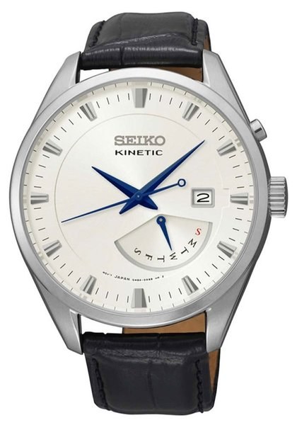 Seiko kinetic SRN071P1 heren horloge 42mm