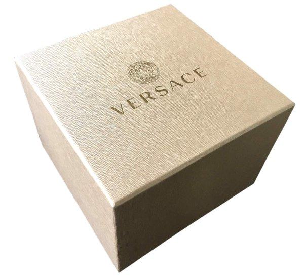 Versace Versace 29G79D009 S079 V-Race GMT & Alarm black gold silver heren horloge