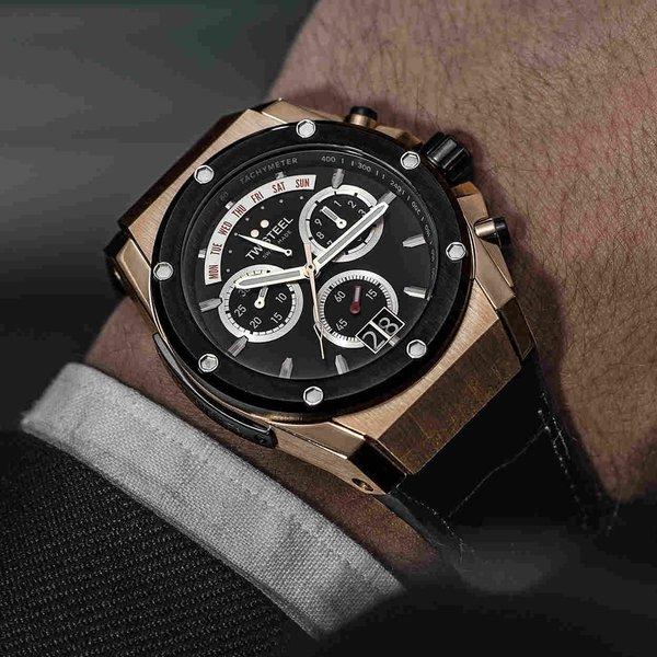 TW Steel TW Steel ACE113 Genesis chronograaf herenhorloge 44mm