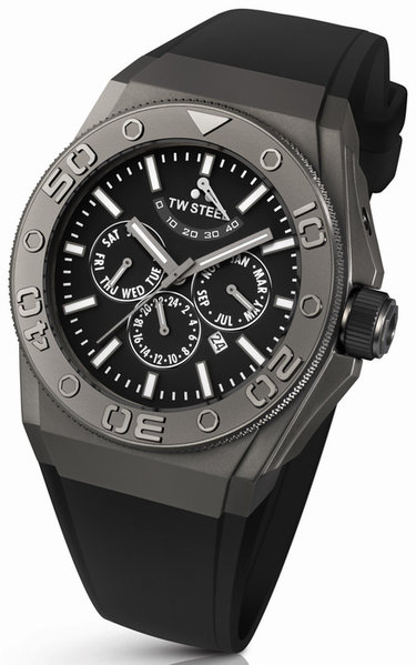 TW Steel TW Steel CE5001 CEO Diver Multifunction Automatisch Horloge 48mm DEMO