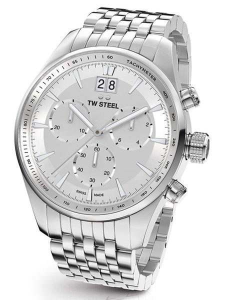 TW Steel TW Steel ACE312 Aternus Swiss Made chronograaf herenhorloge 45mm
