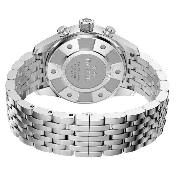 TW Steel TW Steel ACE313 Aternus Swiss Made chronograaf herenhorloge 45mm