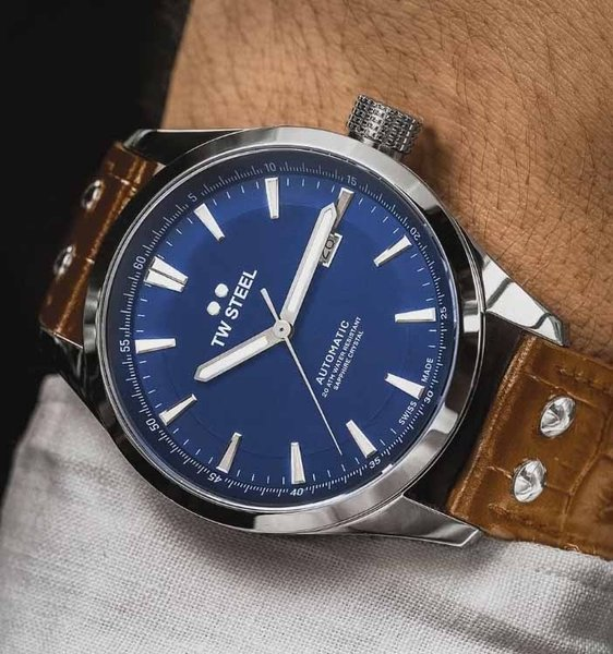TW Steel TW Steel ACE323 Aternus Swiss Automatisch heren horloge 45mm