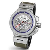 TW Steel TW Steel ACE201 Spitfire Swiss Made automatisch chronograaf heren horloge 46 mm