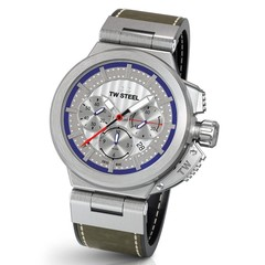 TW Steel ACE201 Spitfire Swiss Made automatisch chronograaf heren horloge 46 mm