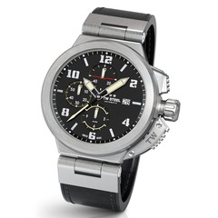 TW Steel ACE204 Spitfire Swiss Made automatisch chronograaf heren horloge 46 mm