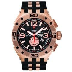 Swiss Alpine Military 7032.9867 heren horloge 50 mm