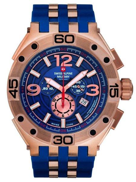 Swiss Alpine Military Swiss Alpine Military 7032.9865 heren horloge 50 mm