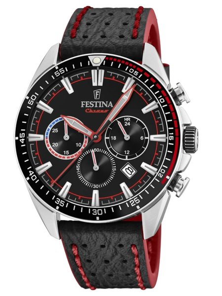 Festina Festina F20377/6 The Originals chronograaf herenhorloge 44 mm