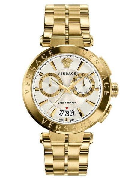 Versace Versace VE1D00419 Aion heren horloge chronograaf 45 mm