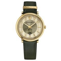 Versace VBQ030017 V-Circle Manifesto heren horloge 42 mm