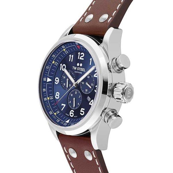 TW Steel TW Steel Swiss Volante SVS201 chronograaf horloge 48mm