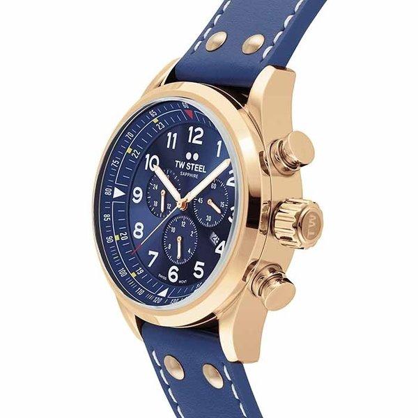 TW Steel TW Steel Swiss Volante SVS204 chronograaf horloge 48mm