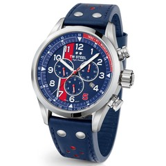 TW Steel Swiss Volante SVS307 Nigel Mansell Limited Edition chronograaf horloge 48mm