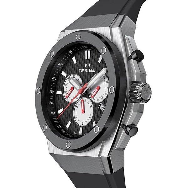 TW Steel TW Steel Swiss CE4049 CEO Tech Petter Solberg World Champion Edition chronograaf horloge 48mm