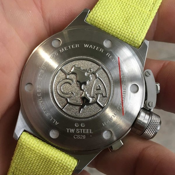 TW Steel TW Steel CS29 Club America Chronograaf horloge 45mm