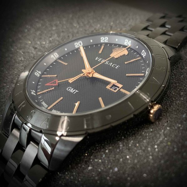 Versace Versace VEBK00618 Univers 43 mm heren horloge