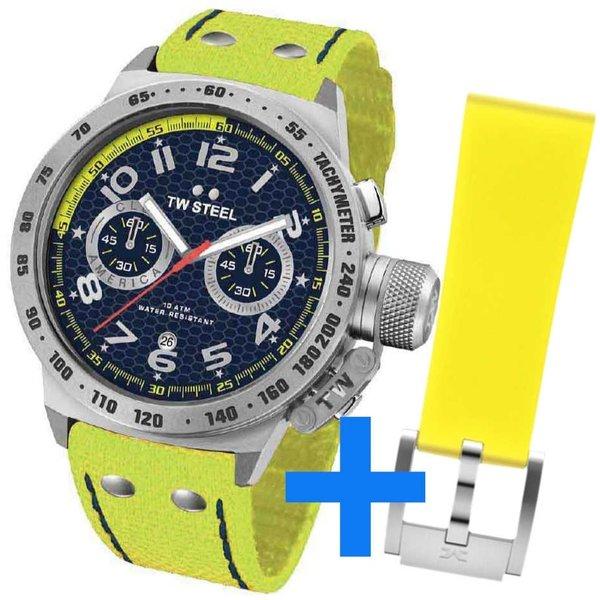 TW Steel TW Steel CS29-set Club America Chronograaf horloge 45mm