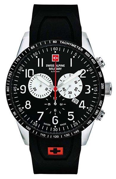 Swiss Alpine Military Swiss Alpine Military 7082.9837 heren horloge 45 mm