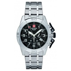 Swiss Alpine Military 7063.9137 heren horloge 45 mm