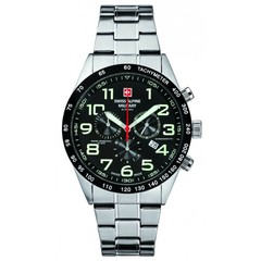 Swiss Alpine Military 7047.9137 heren horloge 46 mm