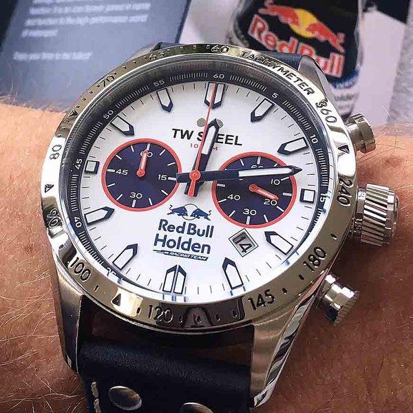 TW Steel TW Steel TW998 Red Bull Holden Racing Team Bathurst Special Edition horloge 46mm
