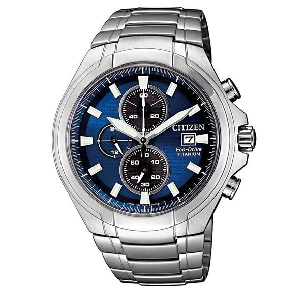 Citizen Citizen Super Titanium CA0700-86L chronograaf Eco-Drive herenhorloge 43 mm