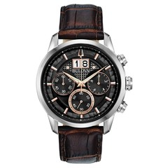 Bulova 96B311 Sutton Chronograaf herenhorloge 44 mm
