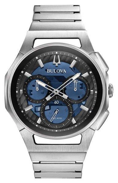 Bulova Bulova 96A205 CURV Chronograaf herenhorloge 44 mm