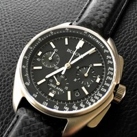 Bulova Bulova 96B251 Lunar Pilot 'Moon watch' Chronograaf herenhorloge 45 mm