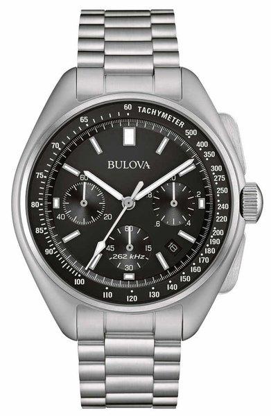 Bulova Bulova 96B258 Lunar Pilot 'Moon watch' Chronograaf herenhorloge 45 mm