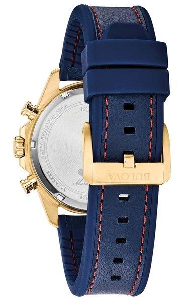 Bulova Bulova 97B168 Marine Star Chronograaf heren horloge 43 mm
